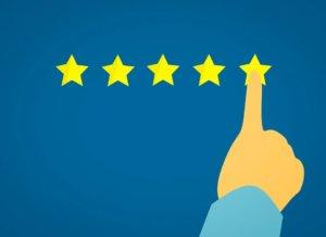 5つ星のイラスト|一般社団法人アイン|アインの集客マーケティングブログ